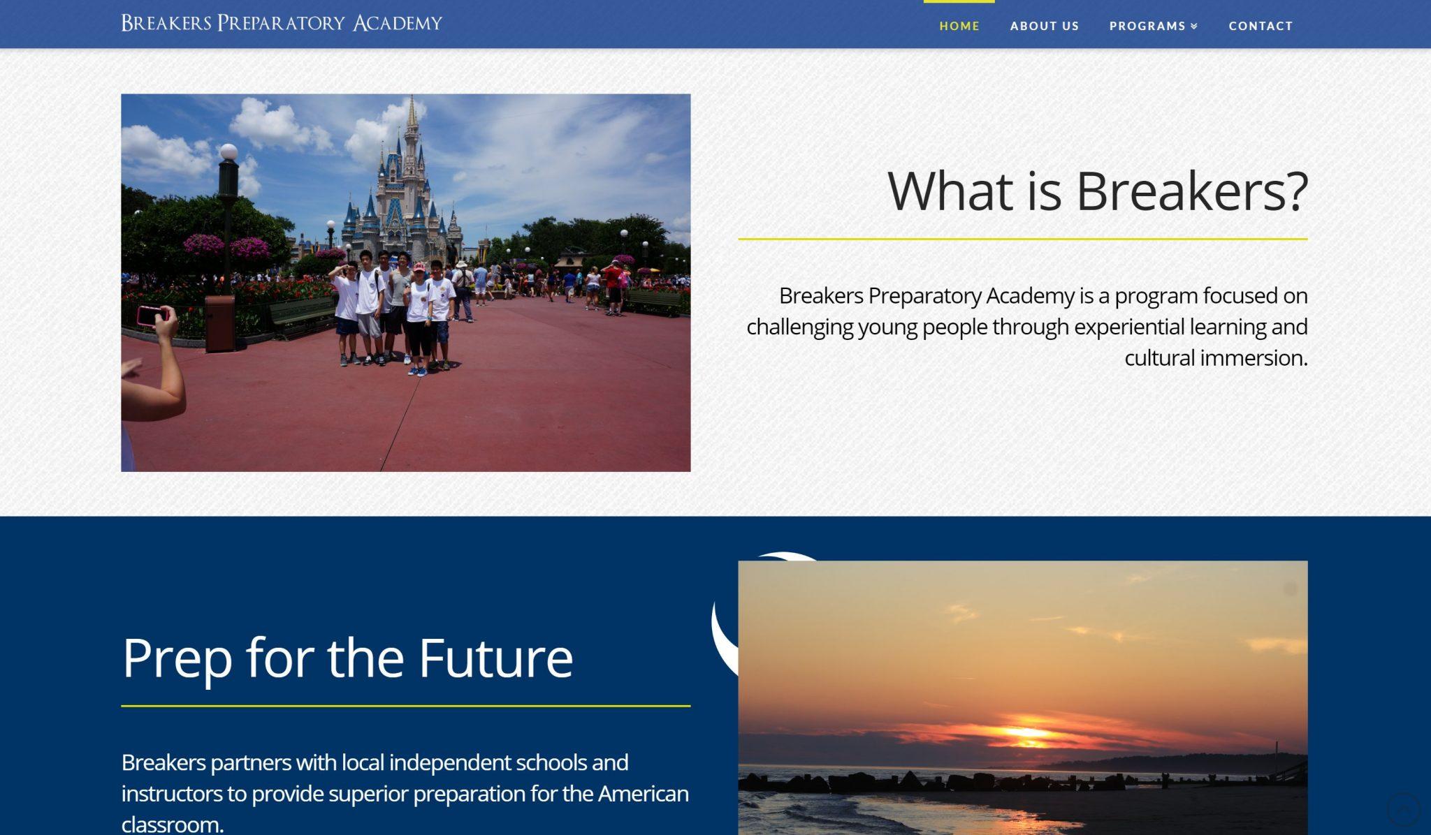 Breakers Preparatory Website