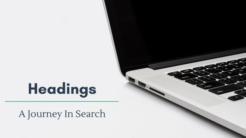 Headings A Journey In Search Banner